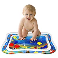 MorTime Inflatable Tummy Time Premium Water mat Infants & Toddlers is The Perfect Fun time Play Activity Center Your Baby