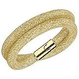 Swarovski Damen-Armband Glas gold 38 cm - 5184171