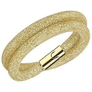 swarovski damen armband glas gold 38 cm 5184171 schmuck. Black Bedroom Furniture Sets. Home Design Ideas