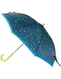 sigikid, Jungen, Regenschirm mit Pfeilen, Arrows, Blau/Grün, 24814
