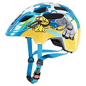 Uvex Unisex-Youth Finale Junior Safari Cycle Helmet, Multi, 47-52