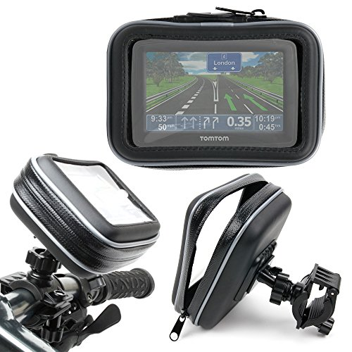 DURAGADGET Estupendo Soporte De Bicicleta Con Funda Protectora Para Los GPS TomTom XL Classic Series Iberia (IB) / Classic Series WE - Resistente Al Agua