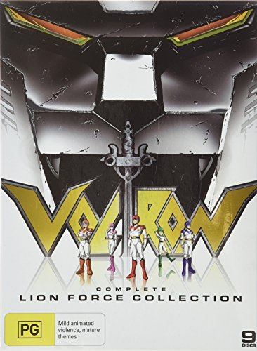 Lion Force Collection by Voltron Defender of the Universe (2011-07-05) (Voltron Lion Force)
