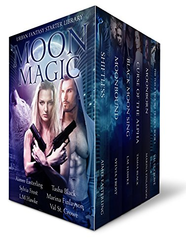 free kindle book Moon Magic: Six-book Starter Library for lovers of Paranormal and Urban Fantasy featuring wolf and coyote shifters and beasts of all kinds...