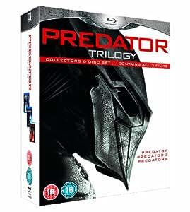 Predator Trilogy (Collectors 6 Disc Set) [Blu-ray] [1987] [Region A & B]