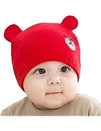 Juleya Cappello del Beanie del Bambino - Berretto Cappello Invernale a  Maglia Bambini Infantili del Bambino 375b95c50fe3