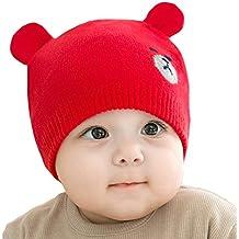 Juleya Cappello del Beanie del Bambino - Berretto Cappello Invernale a  Maglia Bambini Infantili del Bambino c6e2967fdea7