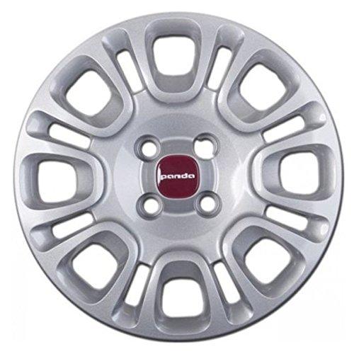 Copriruota-Copricerchio-Coppa-ruota-per-automobile-Fiat-panda-2012-14-Ricambio