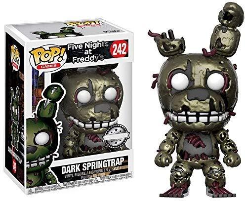 Funko - Figurine Five Nights at Freddy's - Dark Springtrap Exclusive Pop 10cm - 0889698209519