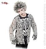FASCHING 10051 Kinder-Kostüm Zombie Junge 1tlg. Halloween NEU/OVP: Größe: 164