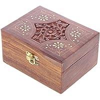 Sheesham Holzbox für 12 Duftoele oder aetherische Oele preisvergleich bei billige-tabletten.eu