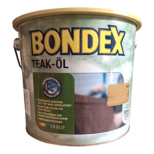 Preisvergleich Produktbild Bondex Teak-Öl Teak 2,50 l - 330059