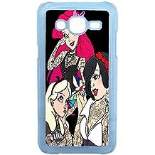 Lapinette COQUE-J5-TRI - Funda carcasa para Samsung Galaxy J5 diseño Princesa Disney Tatuada 2