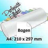 50x Artoz Perle - DIN A4 Bogen 120 g/m² - weiss - glänzendes Papier - geliefert in Original Artoz PURE Box!