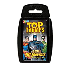 Idea Regalo - Top Trumps-Gioco di carte, DC, motivo supereroi