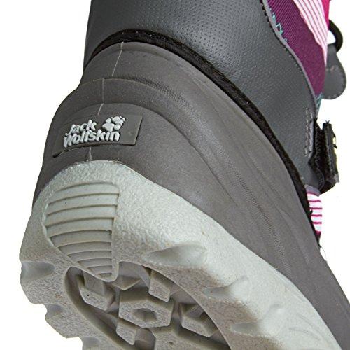 Jack Wolfskin SNOW ROCKER 4001142 Jungen Schneestiefel grau/pink