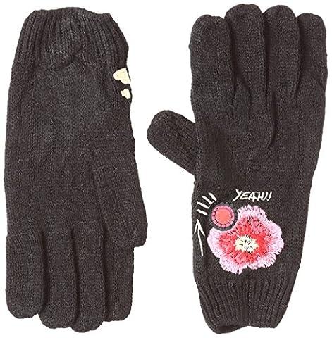 Desigual Gloves_Yeah, Gants Femme, Noir (Negro 2000),