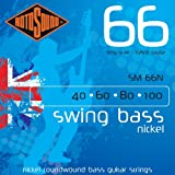 Rotosound 4-string nickel swing bass guitar stringssm66n 40-100