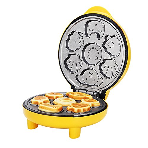 LVZAIXI Sandwich Maker Home Multifunctional Waffle Machine Muffins Machine Pancake Machine Breakfast Machine Toaster Mini Cake Machine