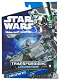 Star Wars Transformers Clone Captain Keeli