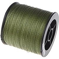 Docooler Angelschnur Geflochten/Angelschn¨¹r/Fishing line,500M 30LB 0.26mm Durchmesser, Material: PE