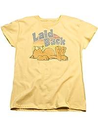 Garfield - - Mujeres Rad Camiseta