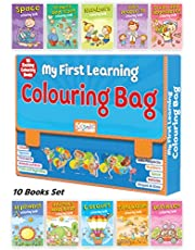 My First Learning Colouring Bag - 10 Exciting Colouring Books