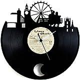 Reloj Péndulo de disco de vinilo - London - Vinyluse