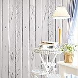 Deko Weiß Holz Getreide Kontakt Papier Selbstklebende Rückseite Regalen schälen und Stick Tapete für, Küche Schrank zinntheken Böden Craft Projekte 45 x 1000 cm
