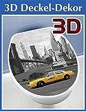 WENKO 3D-WC-Deckelaufkleber New York - ca. 33