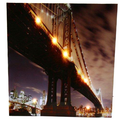 Bild-NEW-YORK-mit-6-LEDs-50-x-50-cm-batteriebetrieben