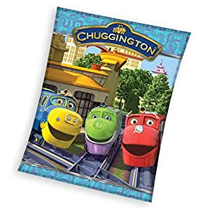 CHUGGINGTON PLAID COUVERTURE POLAIRE 120 X 150 CM FLEECE BLANKET COUVERTURE LIT