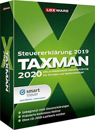 Lexware Taxman 2020 für das Steuerjahr 2019|Minibox|Übersichtliche Steuererklärungs-Software für Arbeitnehmer, Familien, Studenten und im Ausland Beschäftigte