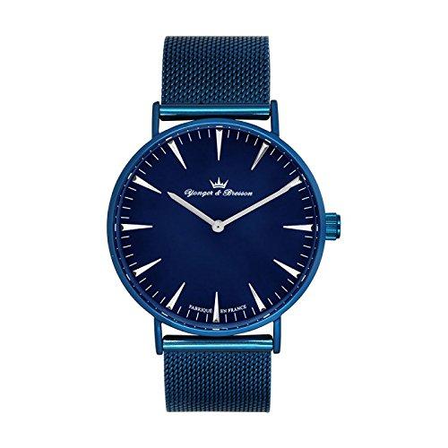Reloj Yonger & Bresson hombre Azul–hmbl 075/GM