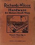 Richards-Wilcox Hardware for Modern Door Ways: General catalog no. 45