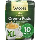 Jacobs Krönung Crema Klassisch XL 10 Pads , 10er Pack (10 x 120g)
