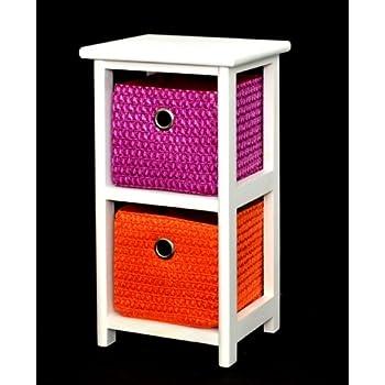 kommode nachttisch schrank 42 cm h he bad regal. Black Bedroom Furniture Sets. Home Design Ideas