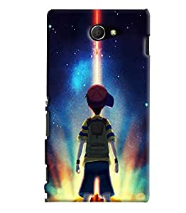 Blue Throat Star Wars Theme Printed Designer Back Cover/ Case For Sony Xperia M2