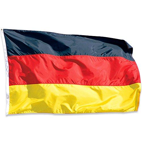 Naicasy 150x 90cm Deutschland Flagge
