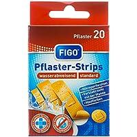 Figo Pflaster-Strips Standard 4 Größen, 2er Pack (2 x 20 Stück) preisvergleich bei billige-tabletten.eu