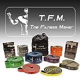 TFM - The Fitness Maker Fitnessbänder (7 - orange)