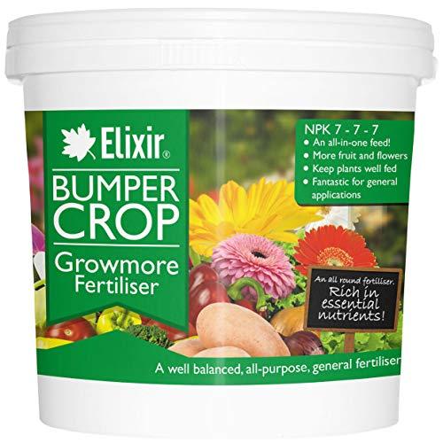 Portal Cool 2,5 kg, polythène Sac: Pare-Chocs des Cultures Growmore Engrais Tout Usage pour Elixir Gardens   1 kg - 25 kg