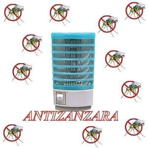 takestop® PRESA ANTI ZANZARE ANTIZANZARE ELETTRICO LAMPADA DA NOTTE CASA STANZE 24H MOSQUITO MOSCHE