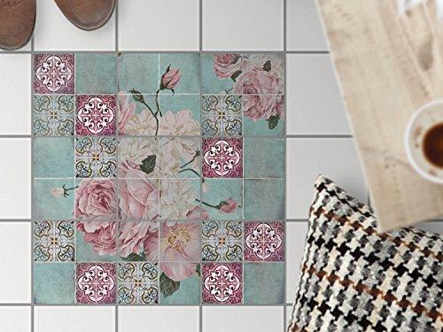 Piastrelle per pavimento decorative adesive design adesivi