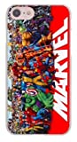 TN Cases Store Coque iPhone 7 et iPhone 8 Batman Superman Spiderman Catwoman Captain America Hulk Iron Man Thor Flash Marvel Super Heros Silicone Souple