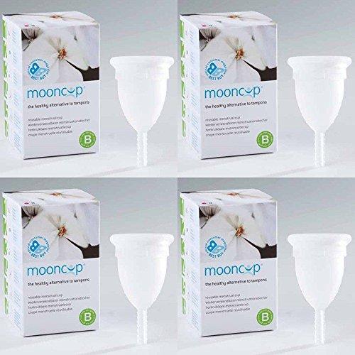 (LOT DE 4) - Mooncup Mooncup Size B | inleSingle | 4 PACK - SUPER SAVER - SAVE MONEY