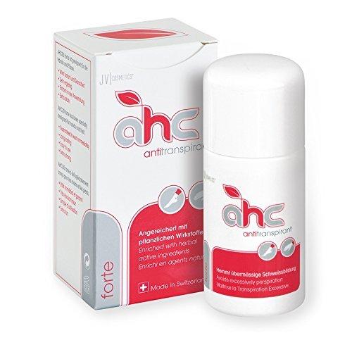 JV Cosmetics - AHC forte Antitranspirant - gegen Schwitzen an Händen und Füßen (50 ml) -