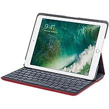 Logitech 920-007304 - Funda con teclado Canvas para iPad Air 1 - Marte Rojo Naranja (Teclado Español)