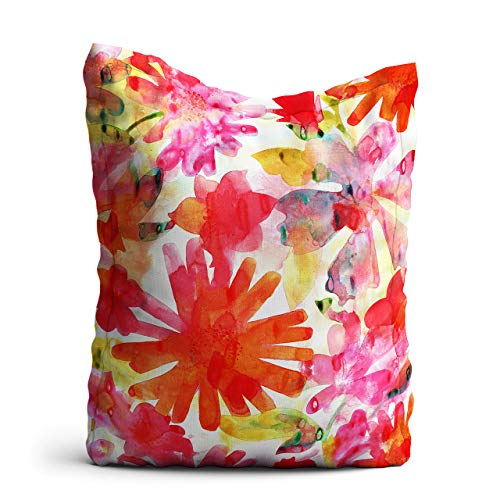 homesphere Sitzsack Sommerblume - XXL Riesensitzsack, 140x180 cm, Sitzsack Outdoor/Indoor, mit Innensack