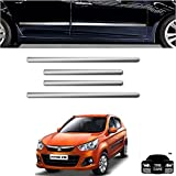 #9: Car Bumper Scratch Guard Chrome | Car Side Beading Chrome for Maruti Suzuki Alto K10 (Free Gift)